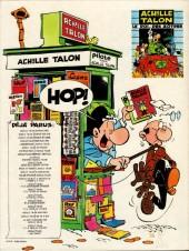 Verso de Achille Talon -15a83- Achille Talon et le quadrumane optimiste