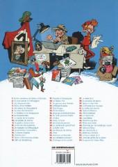 Verso de Spirou et Fantasio -9ind2015- Le Repaire de la murène