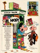 Verso de Achille Talon -16a83- Achille Talon et le trésor de Virgule