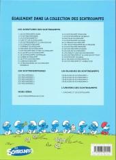 Verso de Les schtroumpfs -25a11- Un enfant chez les schtroumpfs