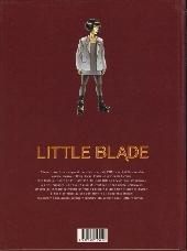 Verso de Little Blade -1- Le patrouilleur du vent