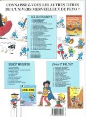 Verso de Les schtroumpfs -22a2007- Le schtroumpf reporter