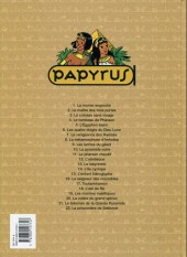 Verso de Papyrus -14a1998/06- L'île cyclope