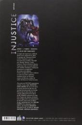 Verso de Injustice - Les Dieux sont parmi nous -2- Année 1 - 2e partie
