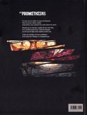 Verso de Les prométhéens -1- Réunion de famille