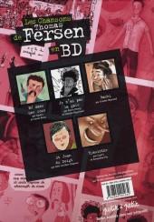 Verso de Chansons en Bandes Dessinées  - Les Chansons de Thomas Fersen en BD