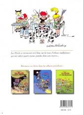 Verso de Les pixels -4- Les pixels et les 4 pandas
