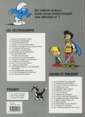 Verso de Les schtroumpfs -13b2002- Les p'tits Schtroumpfs