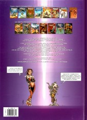 Verso de Tessa agent intergalactique -7- Les Visions de l'Av-Eugg'