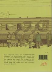 Verso de Un voyage en transsibérien