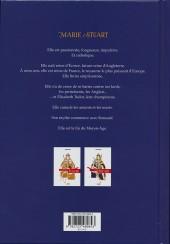 Verso de La vierge et la Putain - Marie Stuart