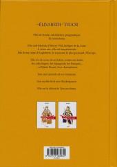 Verso de La vierge et la Putain - Élisabeth Tudor
