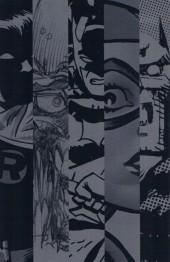 Verso de Batman Black and White (2013) -1- Black & White
