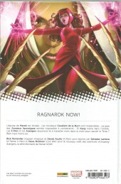 Verso de Uncanny Avengers (Marvel Now!) -3- Ragnarok Now (II)