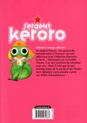 Verso de Sergent Keroro -25- Tome 25
