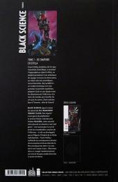 Verso de Black Science -1- De Charybde en Scylla