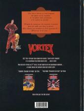 Verso de Vortex -1- Campbell, voyageur du temps - 1