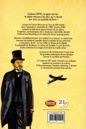 Verso de Gustave Eiffel : Le géant du fer - Gustave Eiffel : le géant du fer