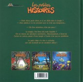 Verso de Les petites histoires -4- Les petites histoires de la jungle