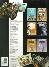 Verso de Spirou et Fantasio -9b2002- Le repaire de la murène