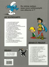 Verso de Les schtroumpfs -5c11- Les Schtroumpfs et le Cracoucas