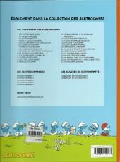 Verso de Les schtroumpfs -16d2009- Le Schtroumpf financier