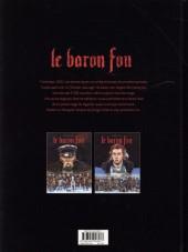 Verso de Le baron Fou -1- Tome 1
