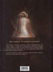 Verso de Les maîtres Saintiers -1- À l'accord parfait, 1788
