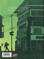 Verso de Paola Crusoé -3- Jungle urbaine