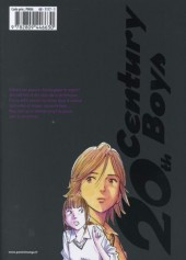 Verso de 20th Century Boys - Deluxe -5- Tome 5