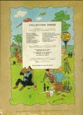 Verso de Tintin (Historique) -15B22- Tintin au pays de l'Or Noir