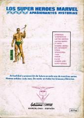 Verso de Patrulla-X Vol 1 (Vertice) -5- La amenaza del Extraño