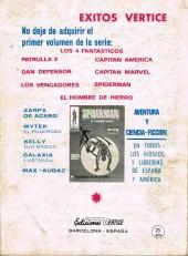 Verso de Patrulla-X Vol 1 (Vertice) -9- Contra Dominus y Lucifer