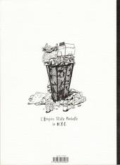 Verso de (AUT) Lolmède - Le rêve américain a travel sketchbook