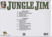 Verso de Jungle Jim (Jim la jungle) -1943- Strips hebdomadaires 1943