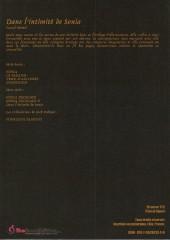 Verso de Sonia -HS03- Dans l'intimité de Sonia