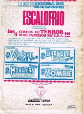 Verso de Super Heroes presenta (Vol. 1) -2- Dos contra cuatro... Temibles