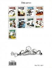 Verso de Calvin et Hobbes -10- Tous aux abris !