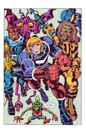 Verso de Captain Victory and the Galactic Rangers (1981) -7- The wonder warriors