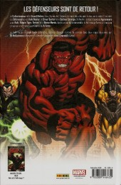Verso de Hulk (Marvel Deluxe) -2- Défenseurs vs Agresseurs