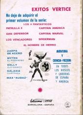 Verso de Hombre de Hierro (El) (Iron Man) Vol. 1 -7- El principio del fin