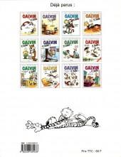 Verso de Calvin et Hobbes -13- Enfin seuls !