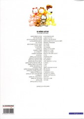 Verso de Garfield -38Ind2015- Chat Académie