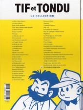Verso de Tif et Tondu - La collection (Hachette)  -52- Tif et Tondu au Congo belge