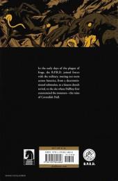 Verso de B.P.R.D. (2003) -INT12- War on Frogs