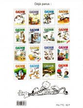 Verso de Calvin et Hobbes -16- Faites place à Hyperman !