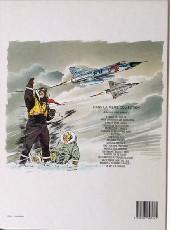 Verso de Tanguy et Laverdure -4a87- Escadrille Des Cigognes