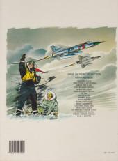 Verso de Tanguy et Laverdure -12c1991- Menace Sur Mururoa