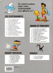 Verso de Les schtroumpfs -13a1988- Les p'tits Schtroumpfs