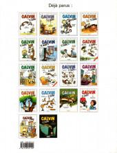 Verso de Calvin et Hobbes -18- Gare au psychopathe à rayures !